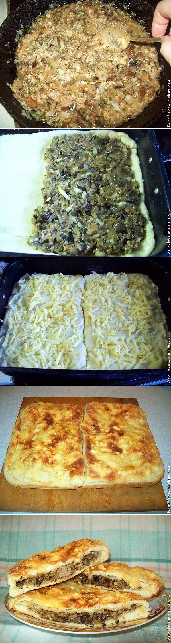 рецепт пиццы в духовке из дрожжевого теста