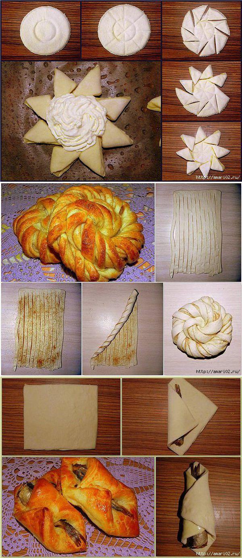 рецепты булочек из дрожжевого теста в духовке с фото 1