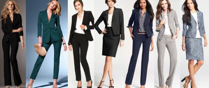 базовый гардероб для деловой женщины