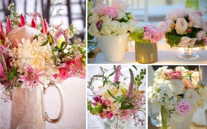 идеи оформления свадьбы цветами в 2018 году, фото 1