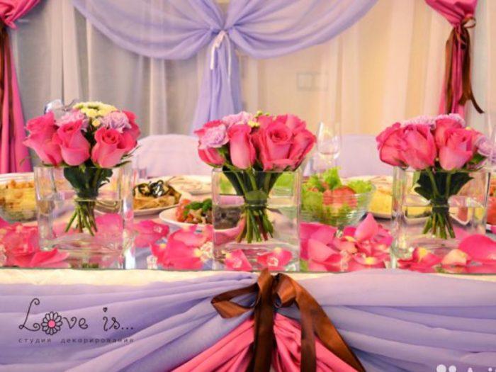 идеи оформления свадьбы цветами в 2018 году, фото 2