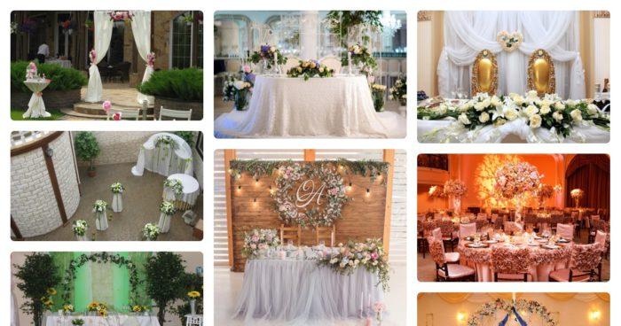 идеи оформления свадьбы цветами в 2018 году, фото 3