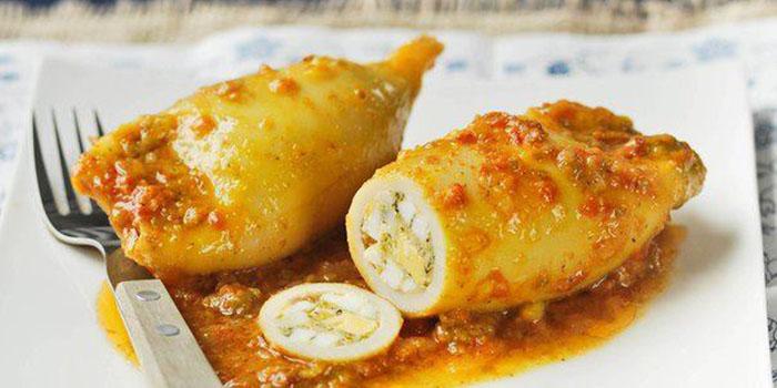 пошаговые рецепты блюд из кальмаров с фото - простые и вкусные