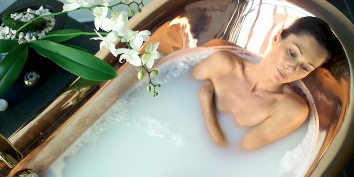 ванна с черной глиной от целлюлита