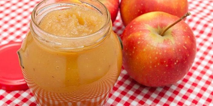 варенье из яблок на зиму простой рецепт 5 минутка