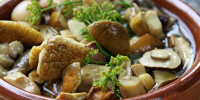 блюда из соленых грибов рецепты с фото простые и вкусные