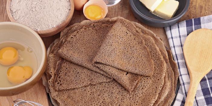 блины из гречневой муки - отличный завтрак для тех, кто худеет