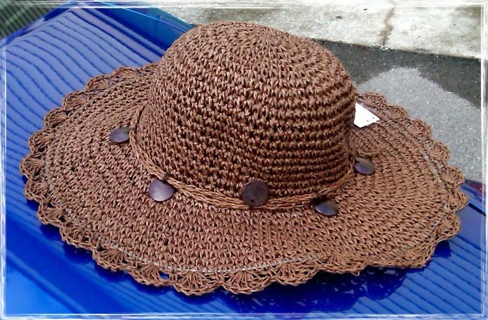 мастер-класс вязаная шляпа с полями крючком фото 3