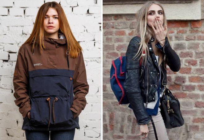 модные фасоны женских курток весна 2018 на фото 3