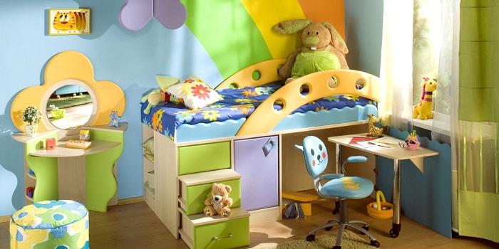 современные идеи 2018: дизайн детской комнаты для подростка фото