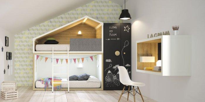 несколько фото дизайна детской комнаты для подростка 4