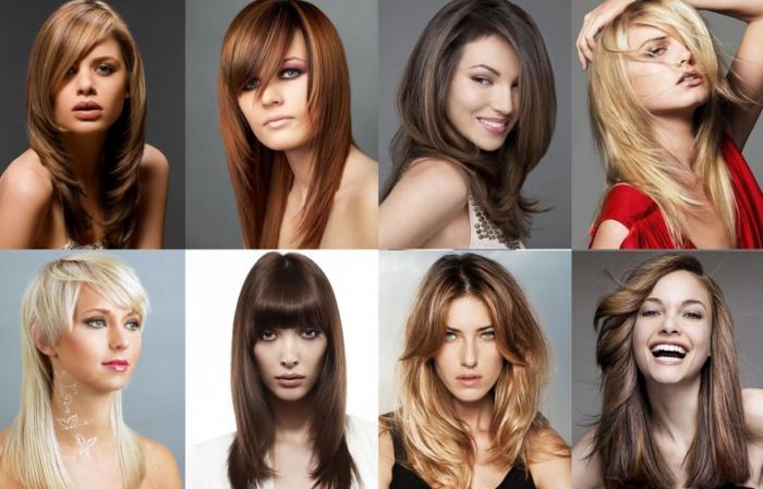 модные стрижки на длинные волосы для женщин 2018 фото 2