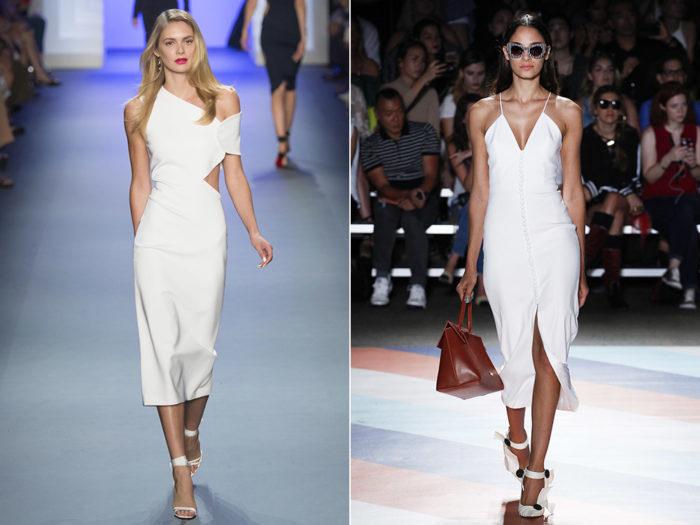 модная тенденция этого лета - белый цвет