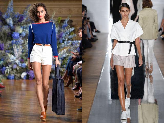 модные шорты лето 2018, тренды и тенденции на фасоны + фото 2