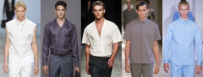 модные мужские рубашки весна-лето 2018 фото 1