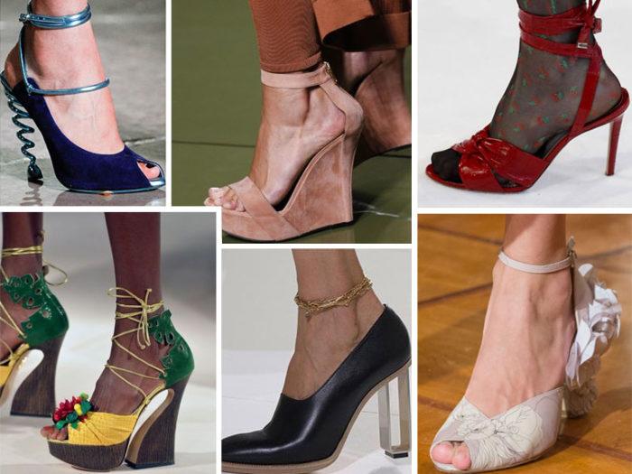 модная женская обувь весна 2018 фото