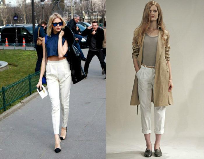луки (образы) с брюками фото 2