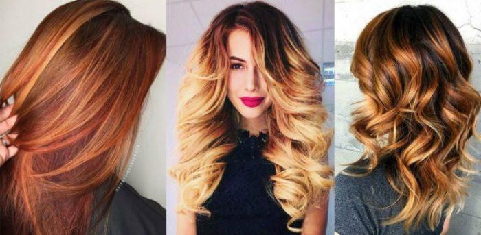 модный цвет волос лето 2018, фото идеи и новинки 4