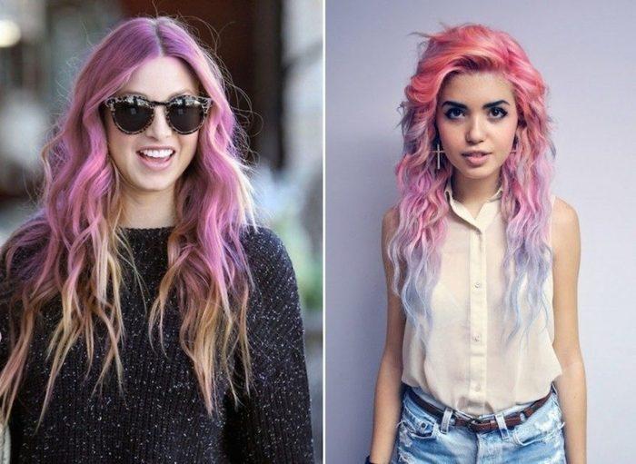 модный цвет волос лето 2018, фото идеи и новинки 6