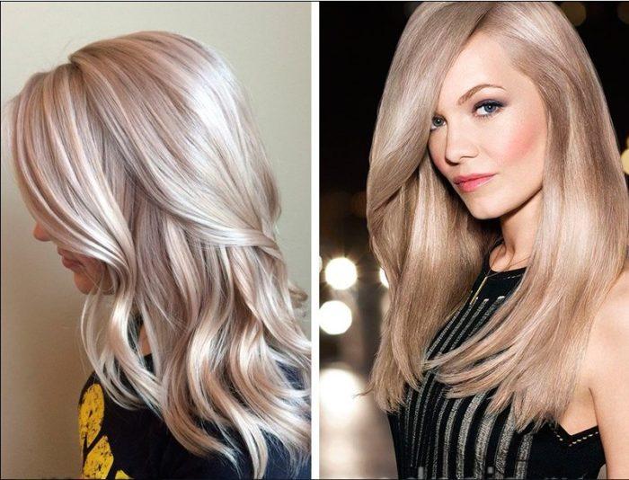 модный цвет волос лето 2018, фото идеи и новинки 7