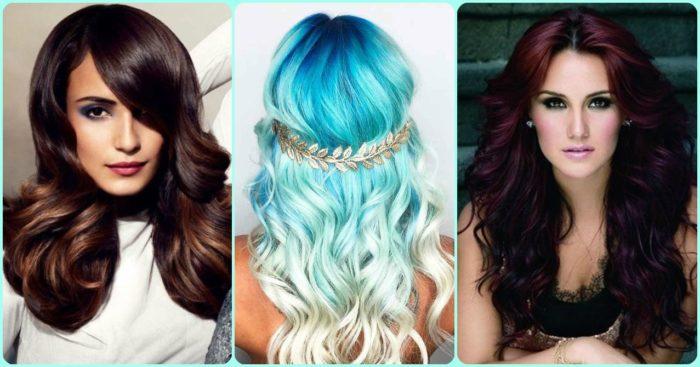 модный цвет волос лето 2018, фото идеи и новинки 8