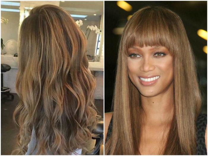 русые оттенки волос 3