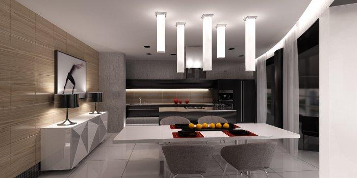 освещение на кухне фото в интерьере фото 2
