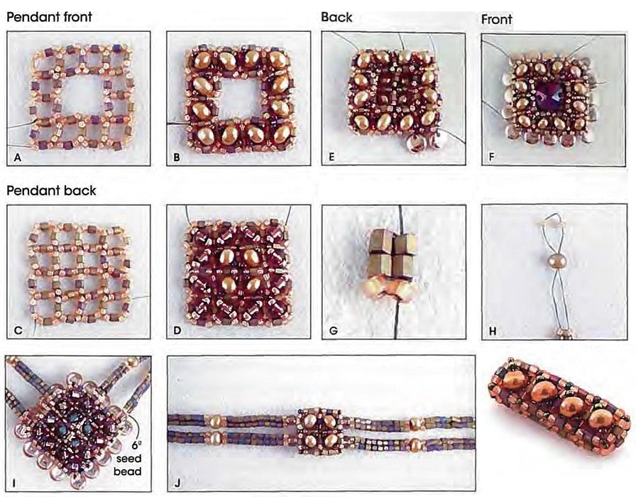 бижутерия из бисера своими руками со схемами для начинающих 4