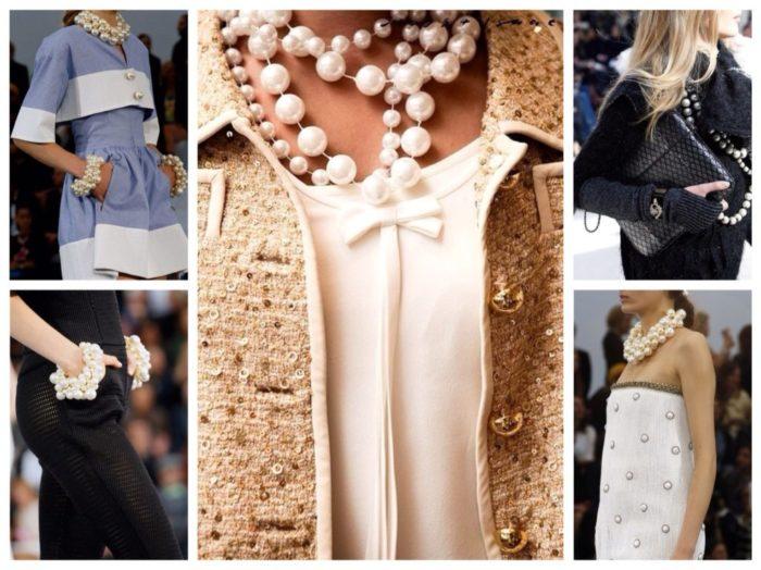 как носить искусственный жемчуг, чтобы выглядеть модно и стильно фото 4