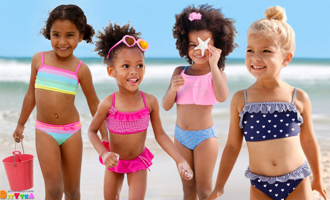 детские купальники фото