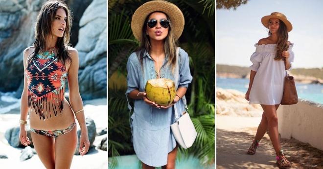 пляжная мода 2018 тенденции на фото 1