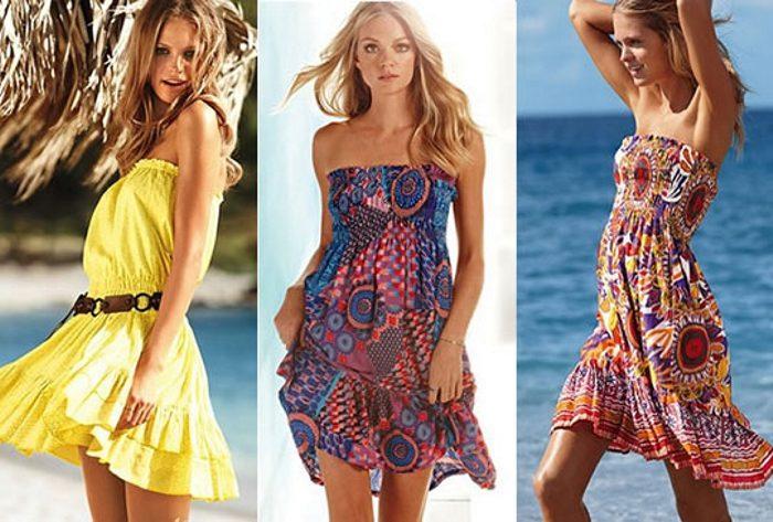 пляжная мода 2018 тенденции на фото 2
