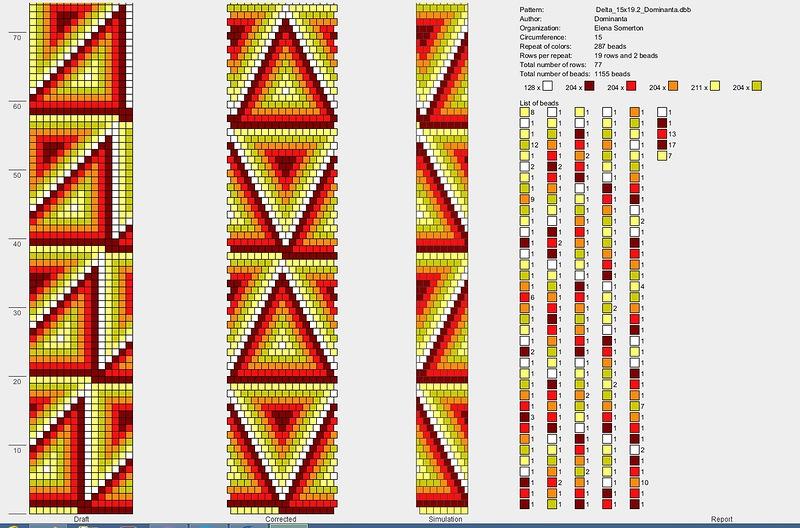 Жгуты из бисера: мастер-классы и схемы плетения для начинающих 69