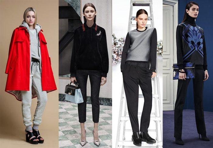 спортивный стиль одежды для девушек и женщин 2018, модные тенденции и тренды на фото 1