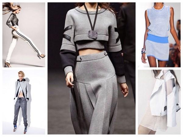 спортивный стиль одежды для девушек и женщин 2018, модные тенденции и тренды на фото 2