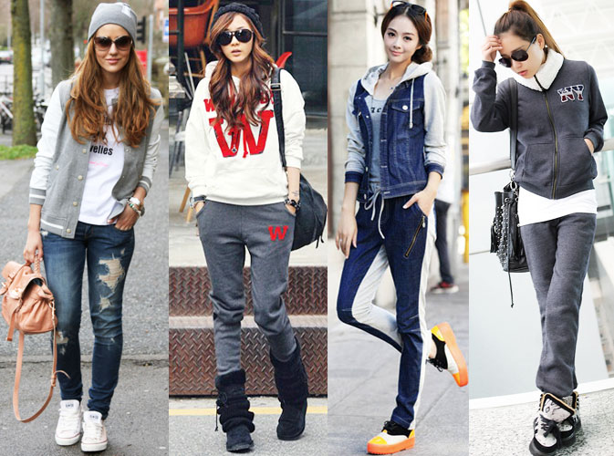 спортивный стиль одежды для девушек и женщин 2018, модные тенденции и тренды на фото 4