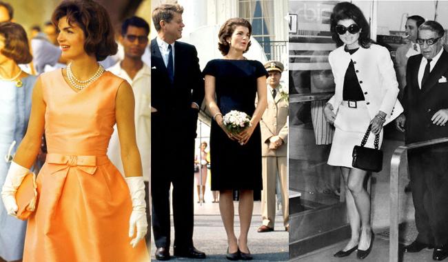 элегантный ретро-стиль в одежде от Жаклин Кеннеди