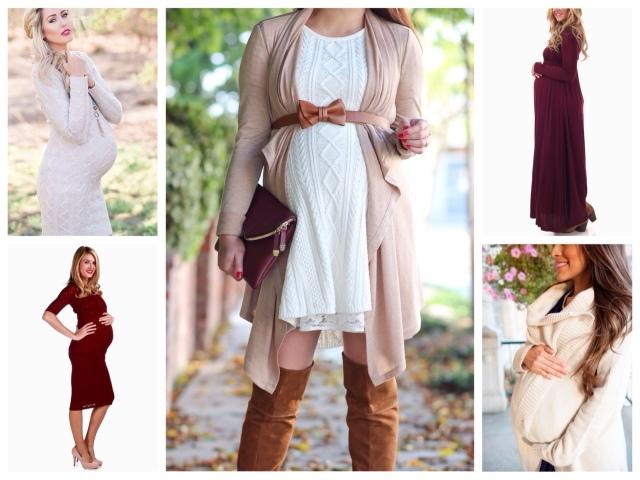 мода для беременных осень-зима 2017-2018, модные тенденции и тренды на фото 1