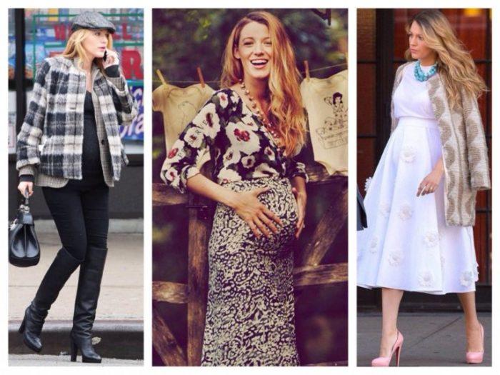 мода для беременных осень-зима 2017-2018 фото 6