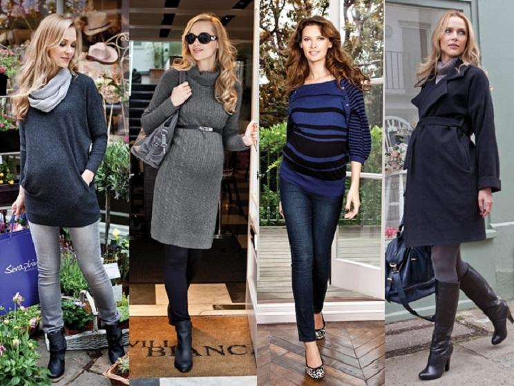 Что одеть беременной в зиму