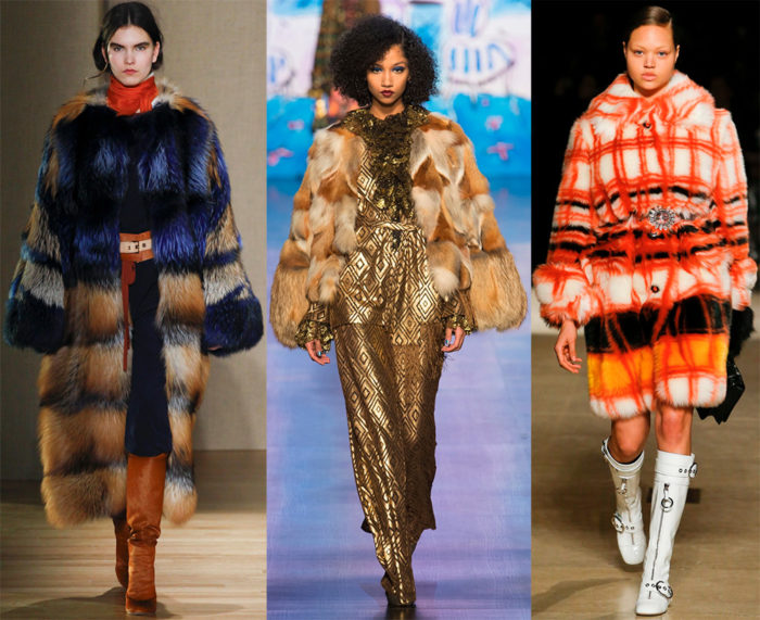 модные тенденции и тренды на шубы осень-зима 2017-2018, фото 5