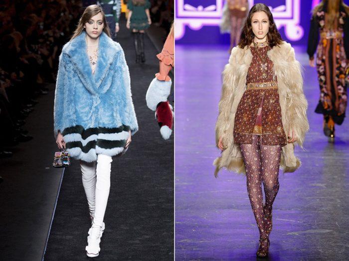 модные тенденции и тренды на шубы осень-зима 2017-2018, фото 7