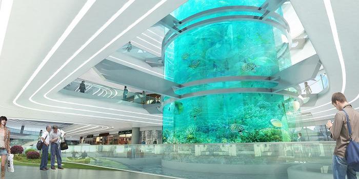 самые большие аквариумы в мире фото
