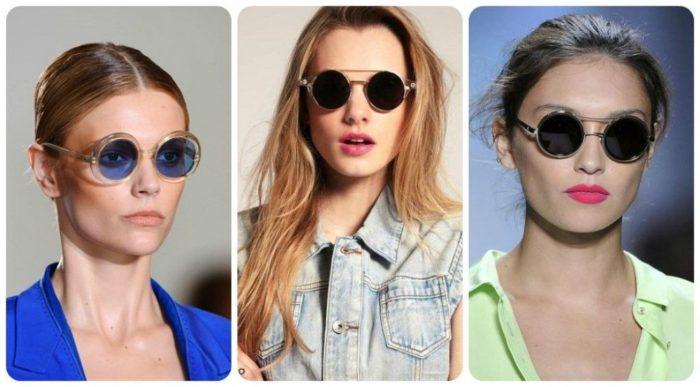 модные солнцезащитные очки весна-лето 2018 фото