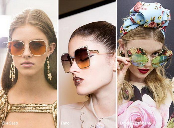модные солнцезащитные очки весна-лето 2018, фото 1