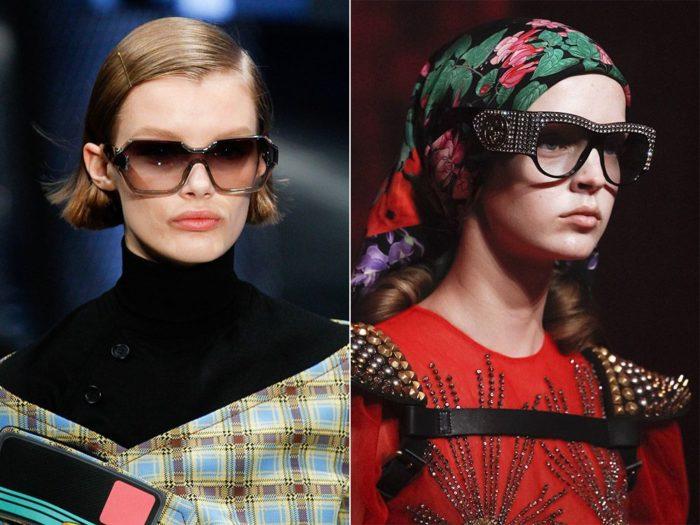 модные солнцезащитные очки весна-лето 2018, фото 4