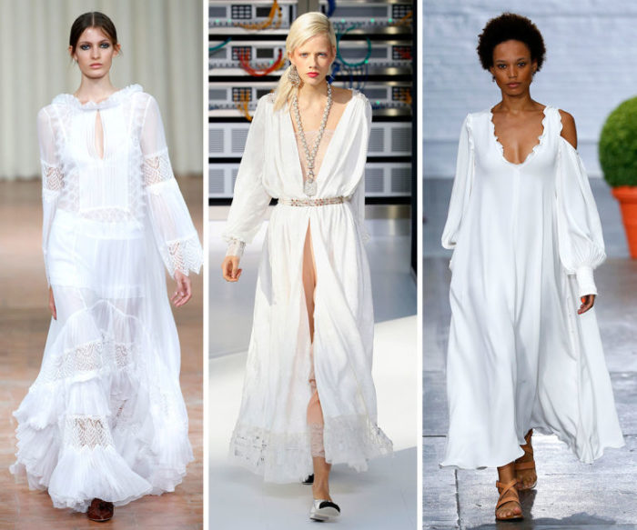 модные белые сарафаны 2018 фото 2