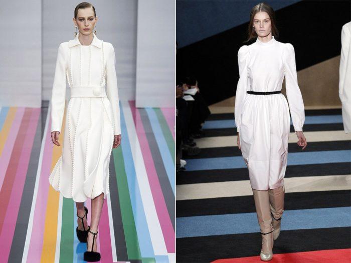 модные белые платья 2018, тенденции и тренды на фото 1