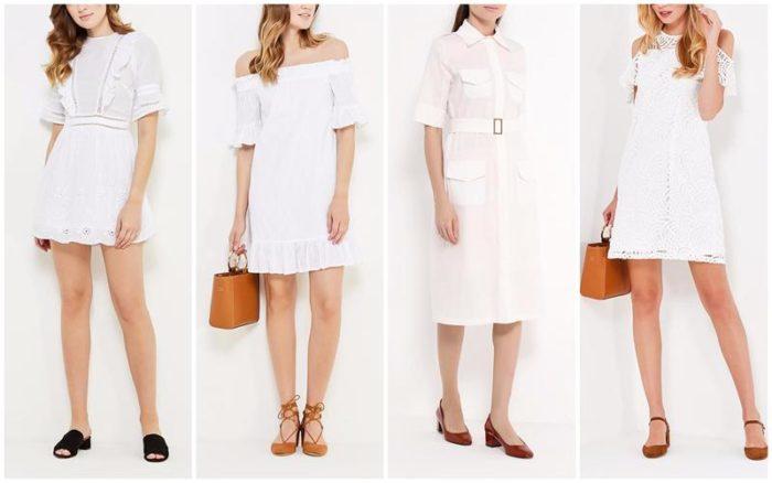 модные белые платья 2018, тенденции и тренды на фото 2