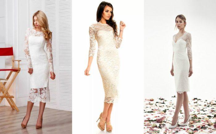 модные белые платья 2018, тенденции и тренды на фото 3